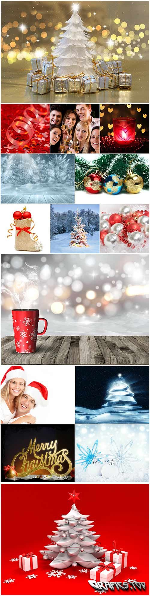 New year raster graphics collection - 14