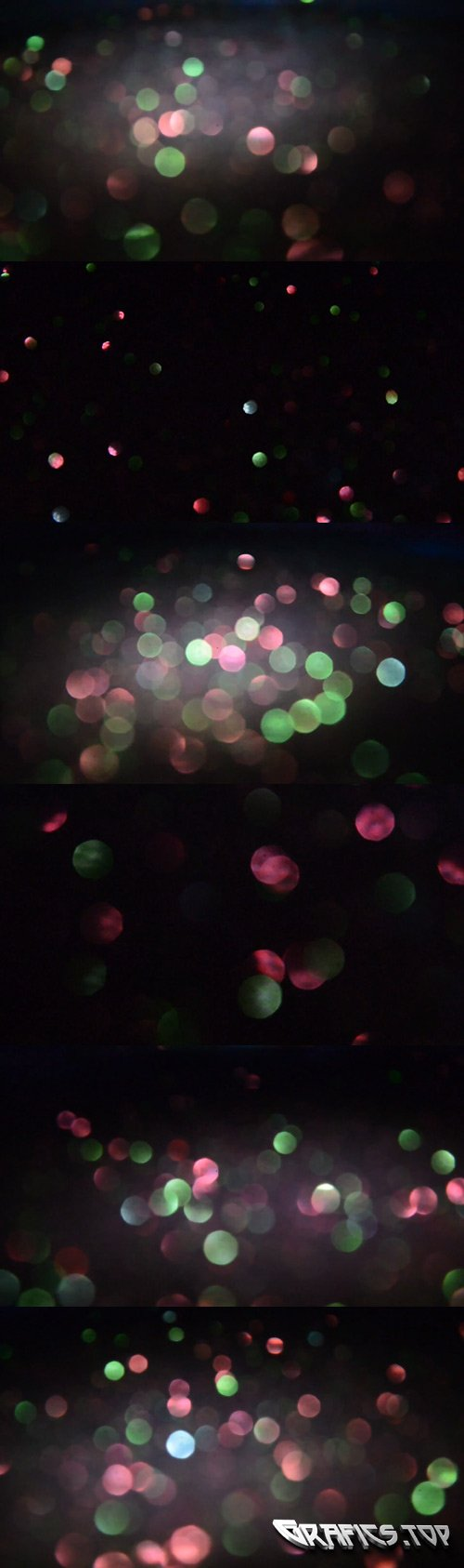 Sparkling Bokeh Lights Collection