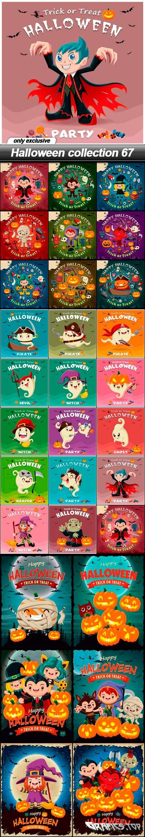Halloween collection 67 - 31 EPS