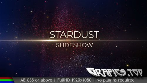 Slideshow Stardust - Project for After Effects (Videohive)