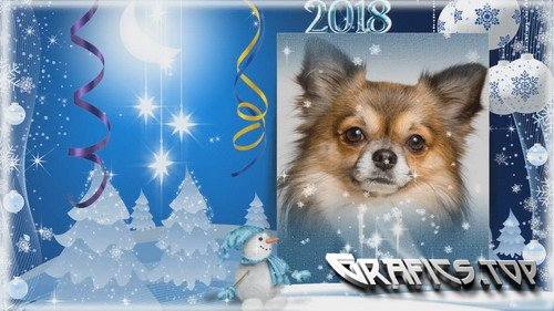 Project for Proshow Producer - New Year greeting card