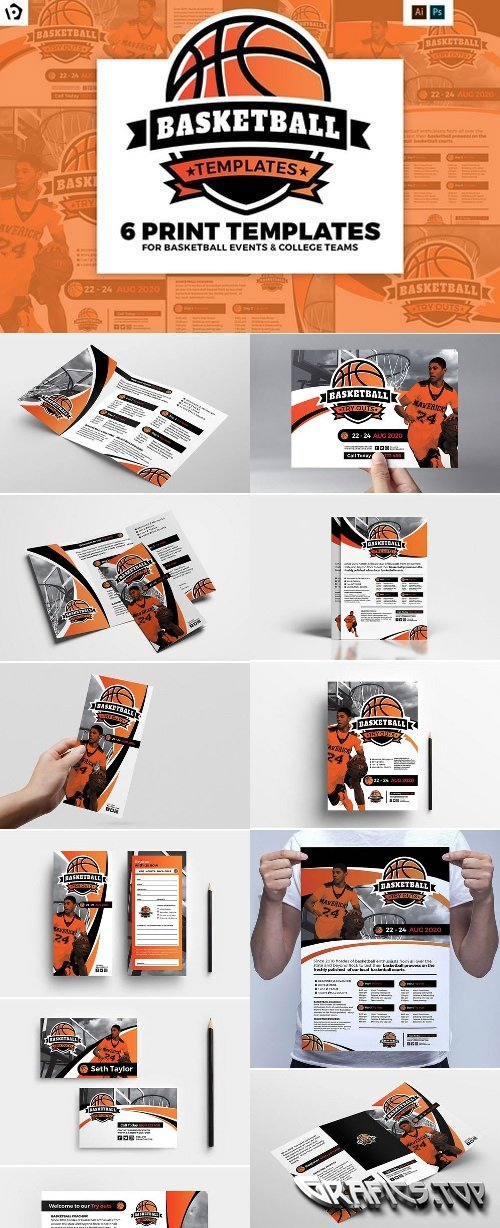 Basketball Templates Pack 2225291