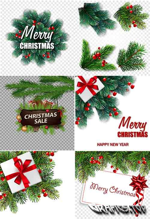 Christmas backgrounds -9 - Vector Graphics