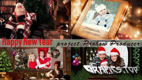Project for ProShow Producer - New Year with Santa Claus
