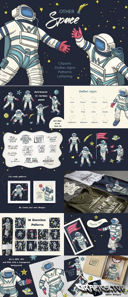 Other Space. Big graphic pack - 3578477