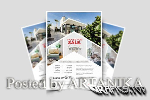 Property PSD Flyer
