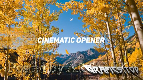 Cinematic Opener Premiere Pro Templates 215216