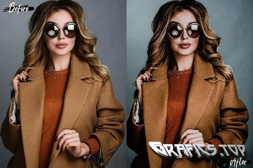5 Hot chocolate Photoshop Actions, ACR and LUT presets - 278396