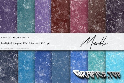 Marble Digital Papers - 4461123