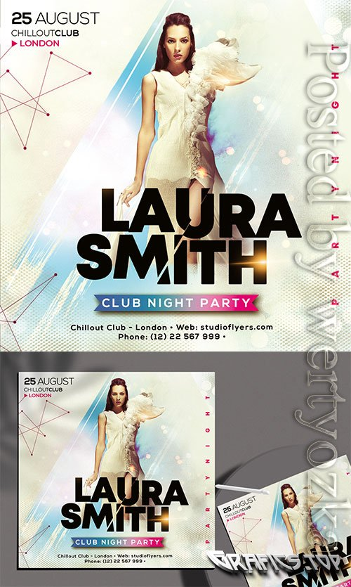 Club_Night_Party - Premium flyer psd template