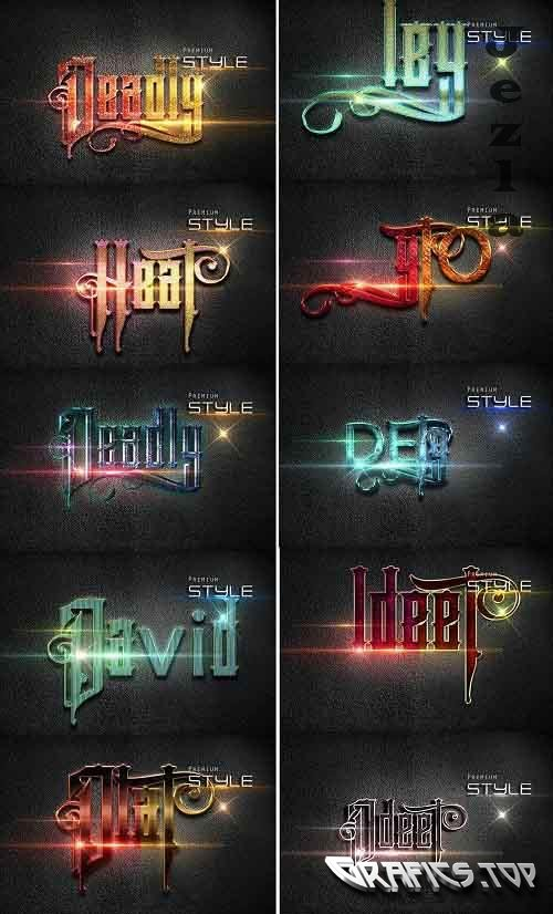GraphicRiver - 10 3D Text Effect 30_09_20 28765179